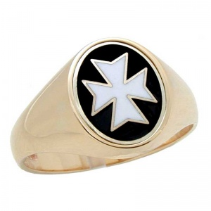 Knights of Malta Signet Ring