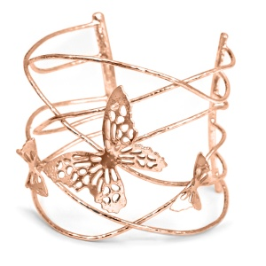 Butterfly Cuff - Rose